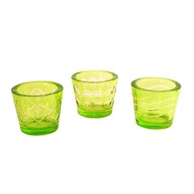Lime Votive Cups
